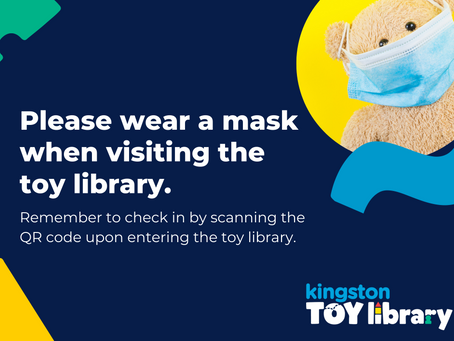 Please remember to bring a face mask when visiting