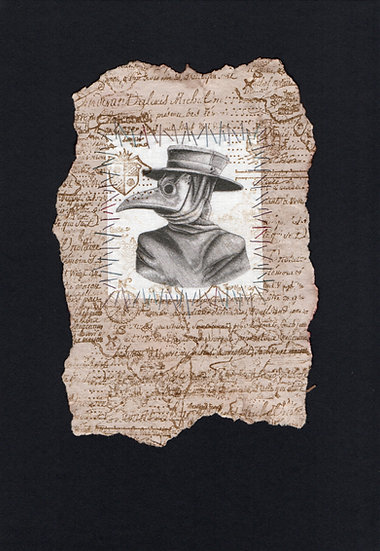 Explorers Notebook - Plague Doctor Mask