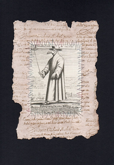 Explorers Notebook - Plague Doctor