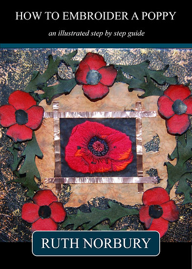 How to Embroider a Poppy