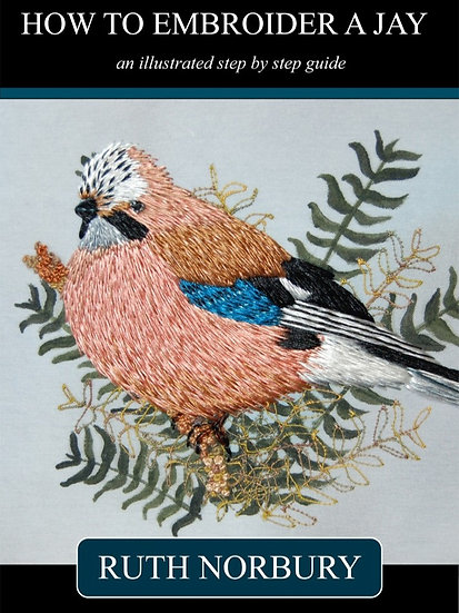 How to Embroider a Jay