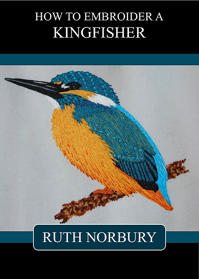 How To Embroider a Kingfisher PDF