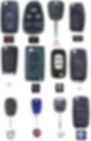 carcasas de mandos para coche