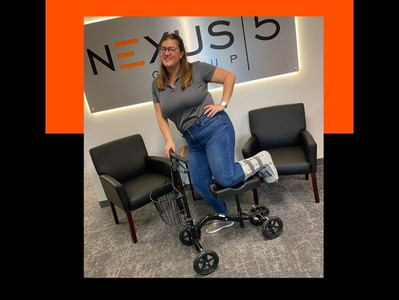 She Broke Her Ankle, We Stole Her Scooter
