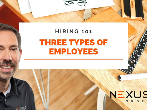 Hiring 101: There Are Three Types of Employees