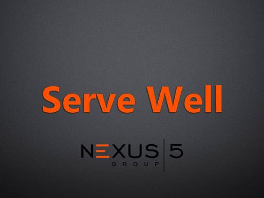 Serve Well