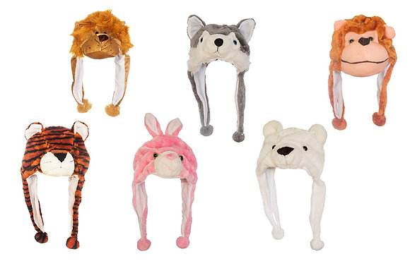 Kids Animal Hat - For ages 3-9