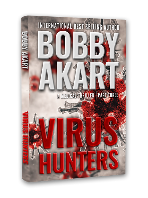 Virus Hunters Book 3, Signed Hardcover