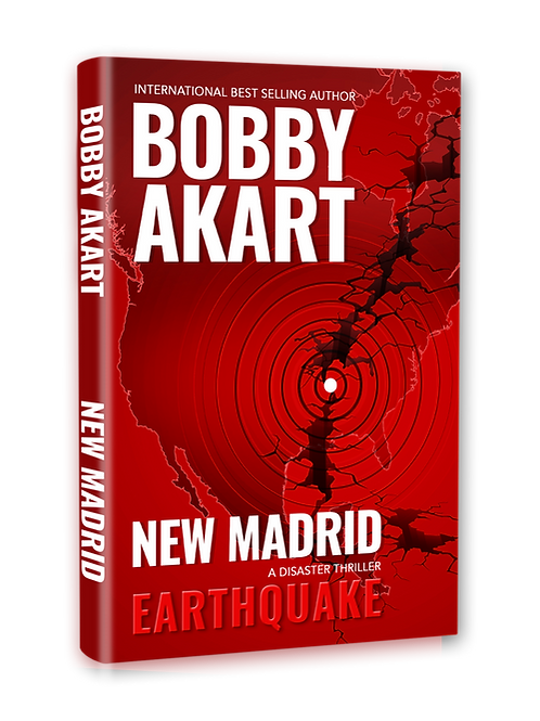 New Madrid Earthquake, Signed Hardcover