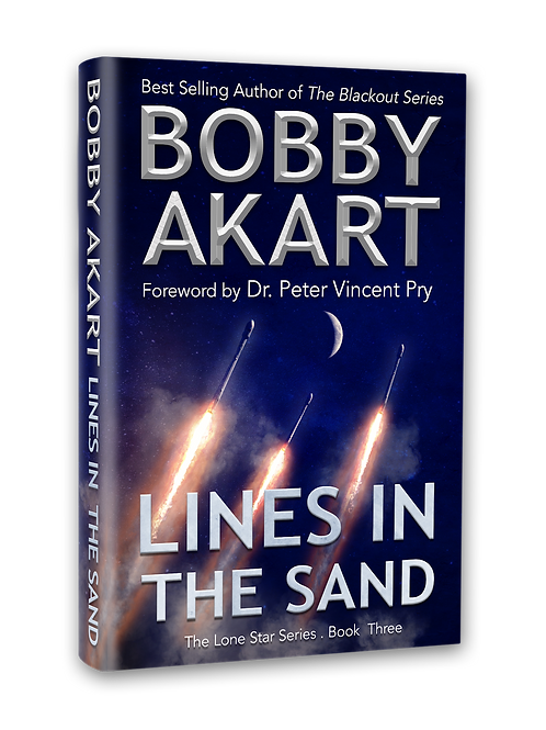 Lone Star Lines In the Sand, Signed Hardcover