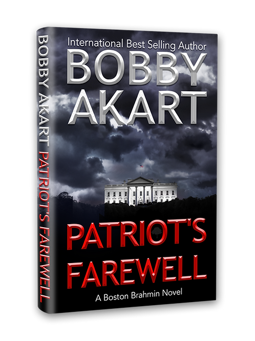 Patriot's Farewell, Signed Hardcover