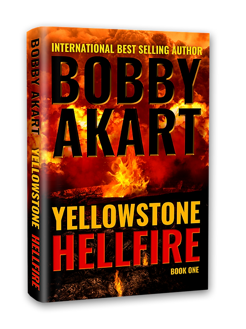 Yellowstone Hellfire, Signed Hardcover