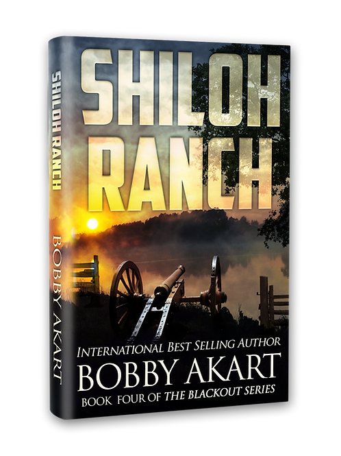 Blackout Shiloh Ranch, Signed Hardcover