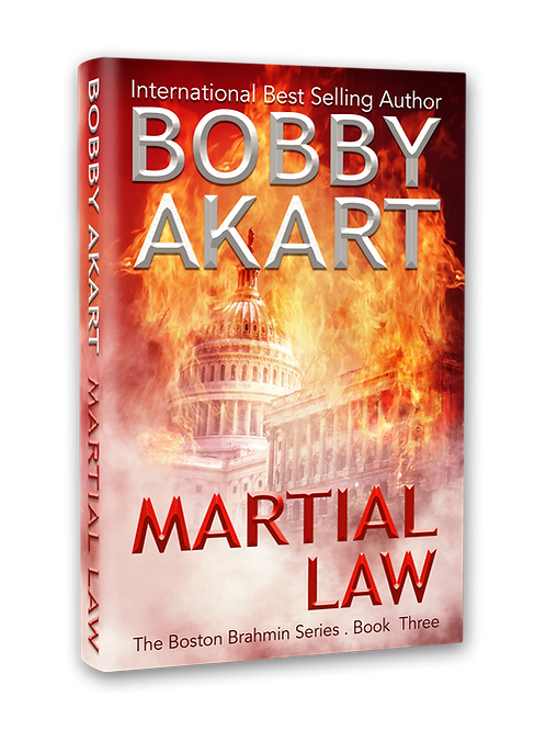 Boston Brahmin Martial Law, Signed Hardcover