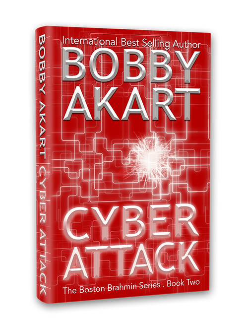 Boston Brahmin Cyber Attack, Signed Paperback