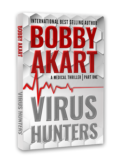 Virus Hunters Book 1, Signed Hardcover