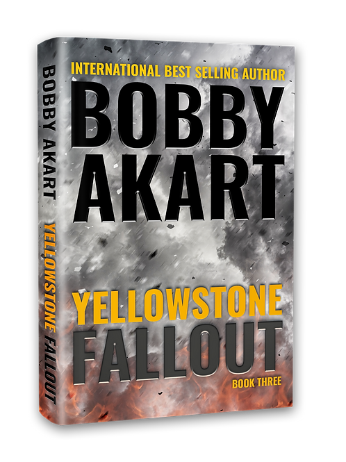 Yellowstone Fallout, Signed Hardcover