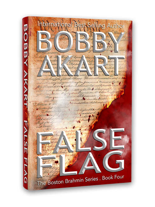 Boston Brahmin False Flag, Signed Paperback