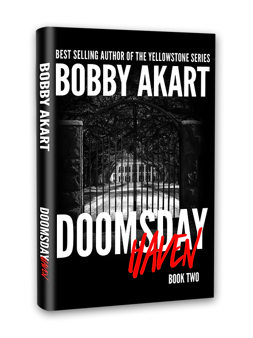 Doomsday Haven, Signed Hardcover