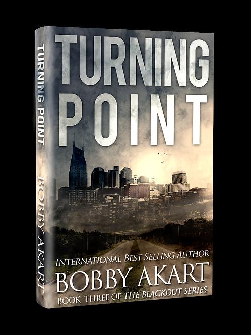 Blackout Turning Point, Signed Hardcover