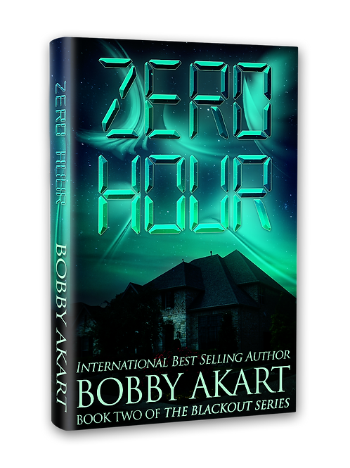 Blackout Zero Hour, Signed Paperback