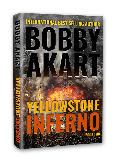 Yellowstone Inferno, Signed Hardcover