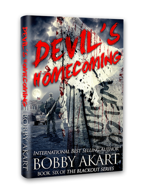 Blackout Devil's Homecoming, Signed Hardcover