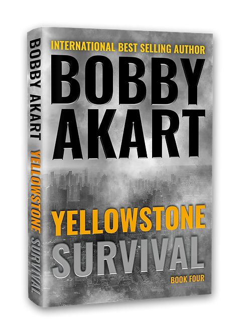 Yellowstone Survival, Signed Hardcover