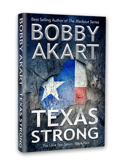 Lone Star Texas Strong, Signed Hardcover