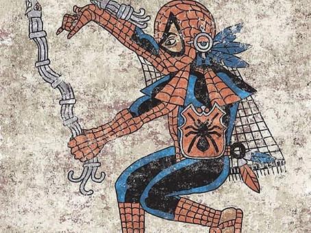 Qetza: iconos pop a través del estilo de arte azteca