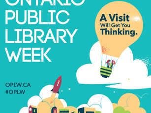 OLA Ontario Public Libraries Week!
