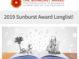 2019 Sunburst Award Longlist!