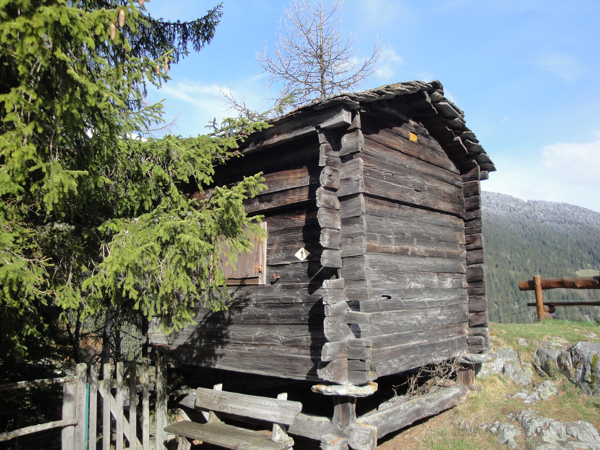Cabanon à louer pour des vacances en Valais