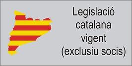 Legislació catalana vigent