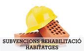 Subvencions per a la rehabilitació d'habitatges