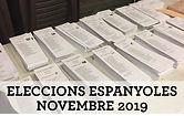 Resultats eleccions espanyoles NOV 2019