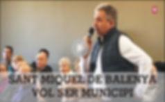 Sant Miquel de Balenyà farà una consulta el 26 de març per decidir si vol ser municipi