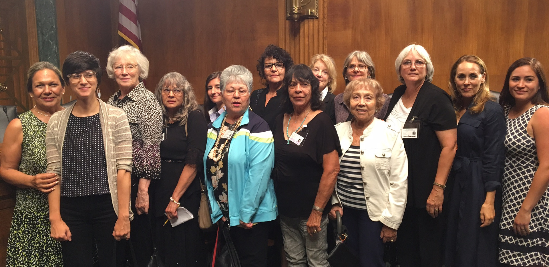 Members of TBDC in the Senate Judiciary Committee Chambers