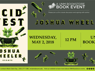 Acid West Book Event with Joshua Wheeler