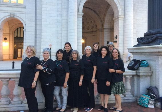 Members of TBDC at Union Station