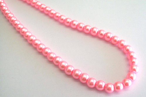 Pearl Glass Beads 4mm