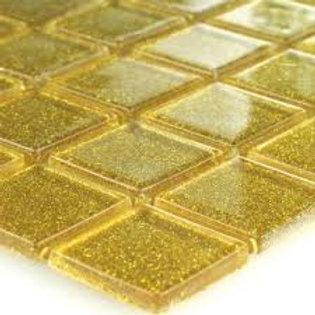 GLITTER Crystal Glass Mosaic Tiles 25X25