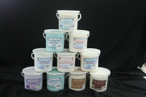 Glycerin soap 1kg tubs asst