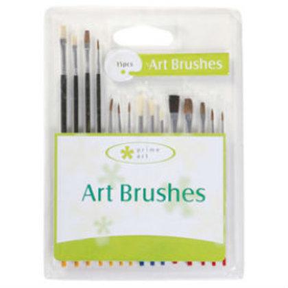 Prime Art Brush Set 15 Pcs