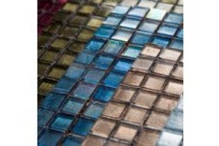 Gold Leaf Tiles 15mmx15mm