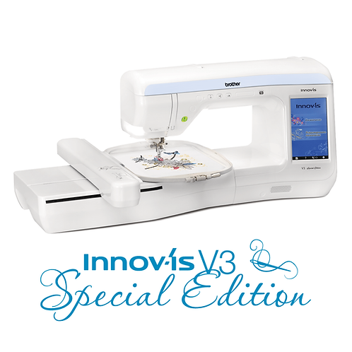 Brother V3 Special Edition Embroidery Only Machine