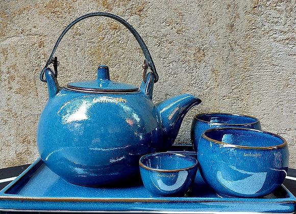 Juego Tealosophy Azul