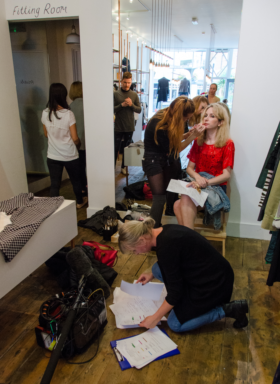Scene in shop