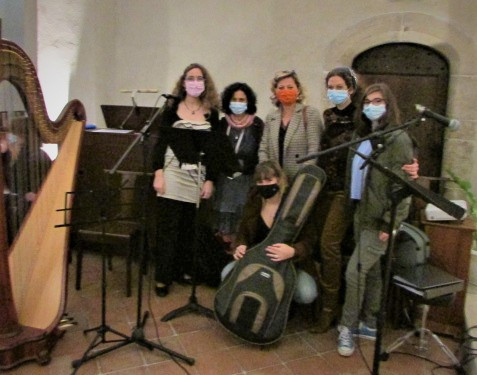 Chorale a la messe de Noel de 17h a Mouans Sartoux