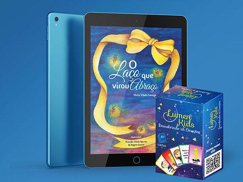 "COMBO E-Book ""El bucle que se convirtió en un abrazo"" + Juego físico ""Lumen Kids"""
